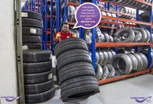 Tire fitting Dubai