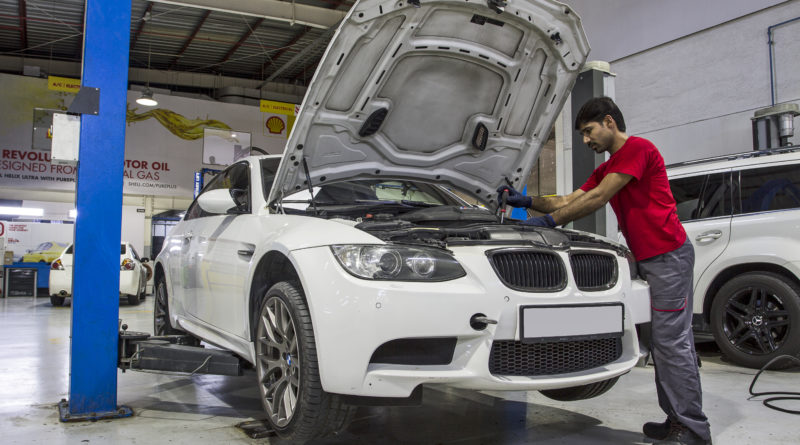 BMW Car Service Dubai