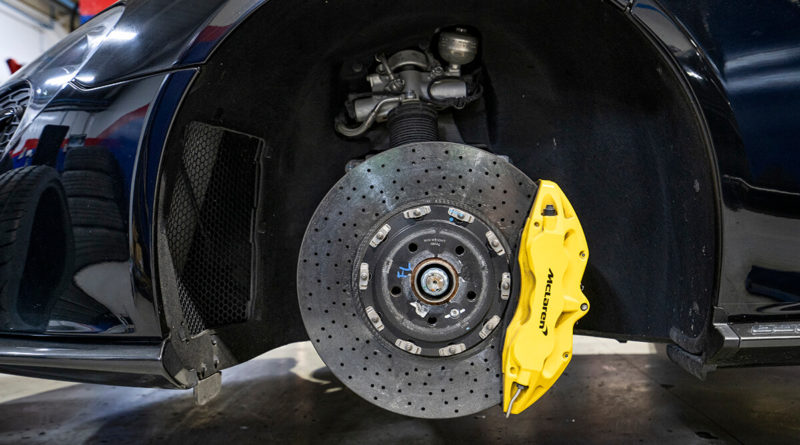 What Happens During the brake inspection service in Dubai?