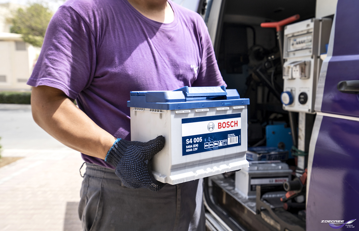 Car Battery Services in Dubai