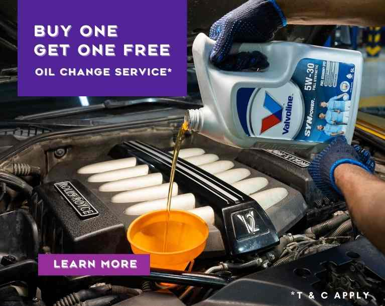 Buy One Get One Free Oil Change