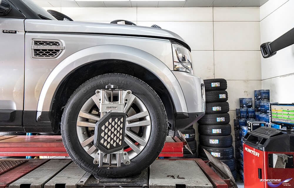 Gold Maintenance Package: Wheel Alignment