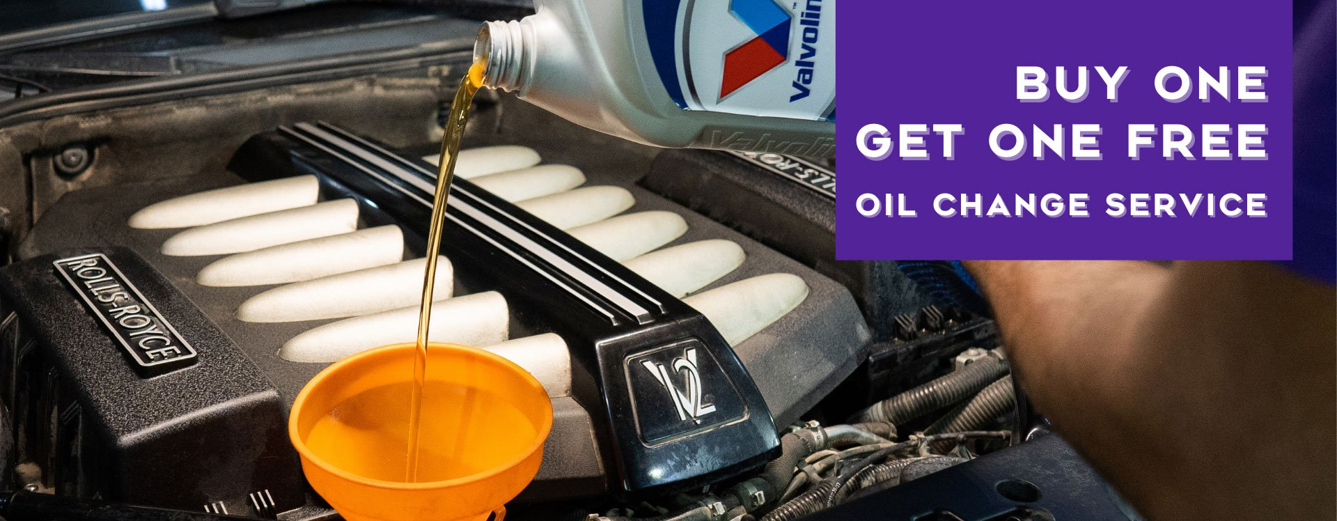 Buy One Get One Oil Change Free