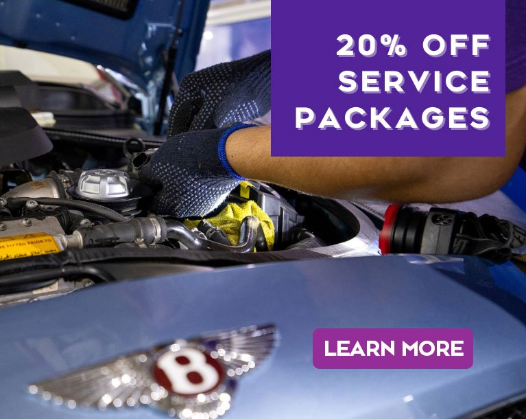 20% OFF ON SERVICE PACKAGES