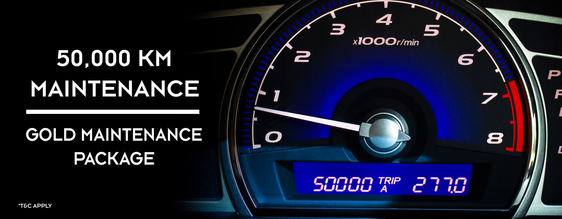 25% off Gold Maintenance Package