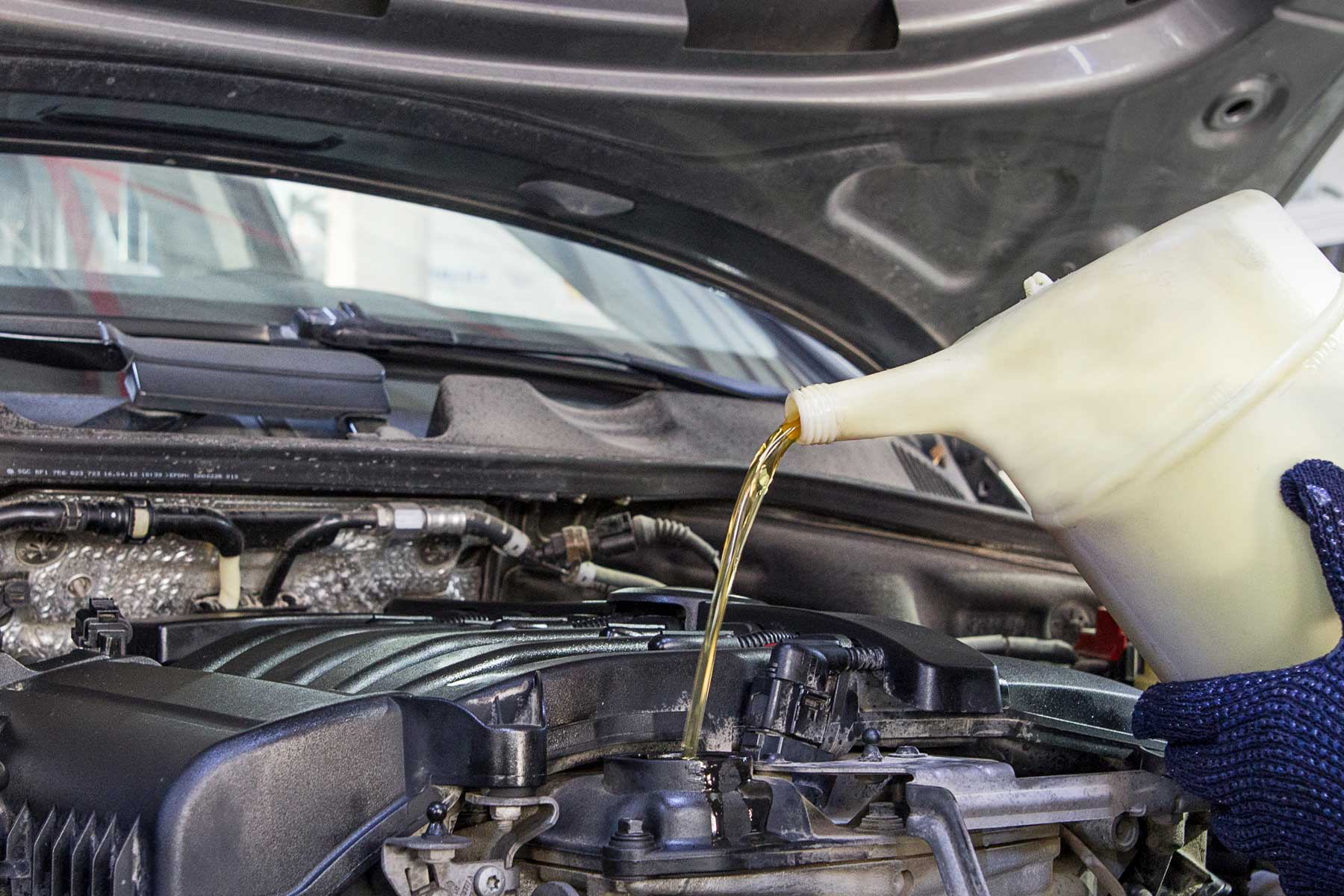 OIL CHANGE SERVICE IN DUBAI